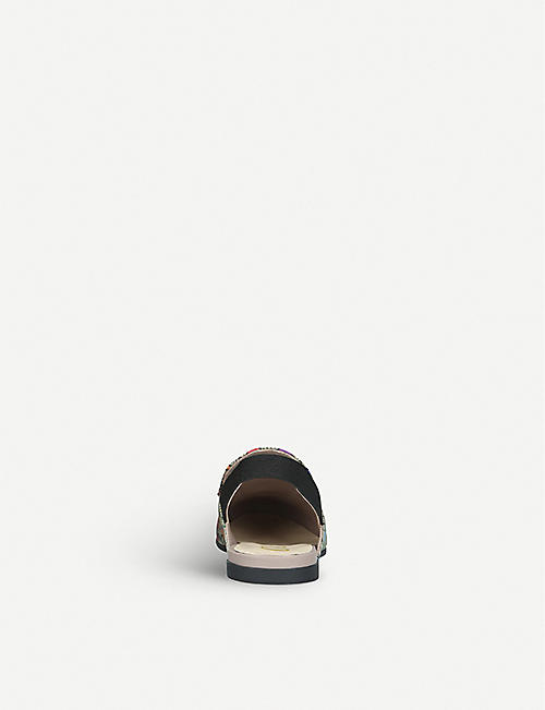 GUCCI Princetown Rodeo canvas mules 4-8 years