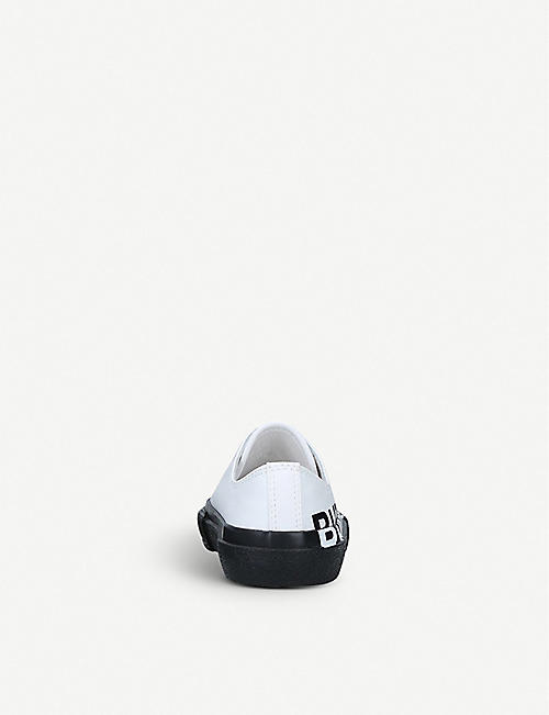 BURBERRY Mini Larkhall cotton trainers 3 months - 8 years