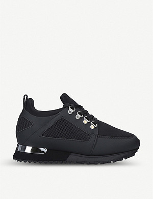 MALLET Hiker Mini leather and neoprene trainers