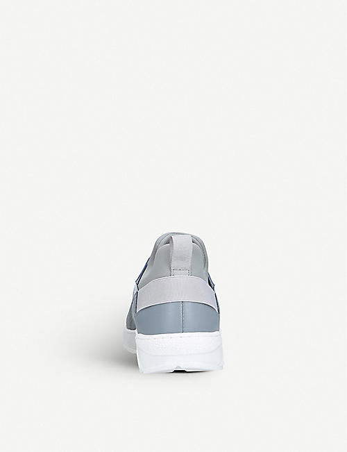 BOSS BY HUGO BOSS Logan low-top neoprene and mesh trainers