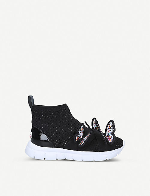 SOPHIA WEBSTER Maisy butterfly-embellished mesh trainers 5-8 years