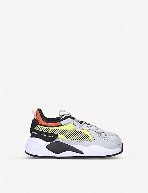 PUMA RS-X Hard Drive leather and mesh trainers 2-5 years