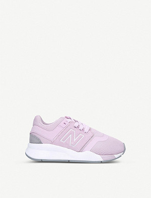 NEW BALANCE 247 V2 mesh trainers 6-8 years