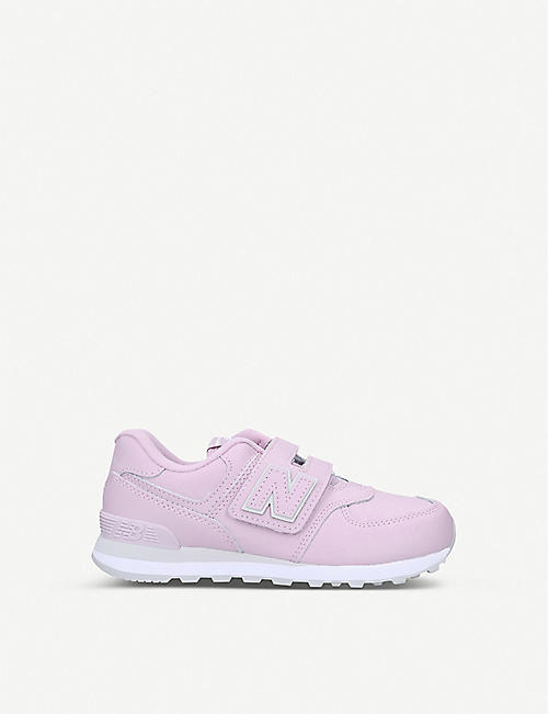 NEW BALANCE 574 low-top trainers 6-8 years