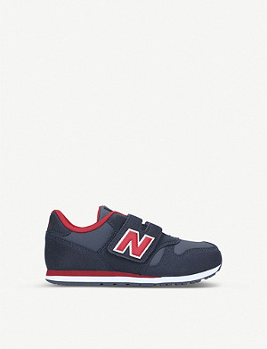 NEW BALANCE 373 suede and mesh trainers 6-10 years