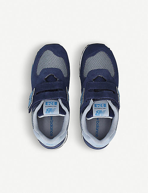 NEW BALANCE 574 low-top trainers 6-7 years