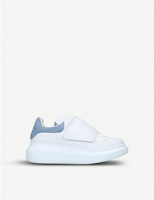 ALEXANDER MCQUEEN: Kids Molly leather trainers 3-8 years