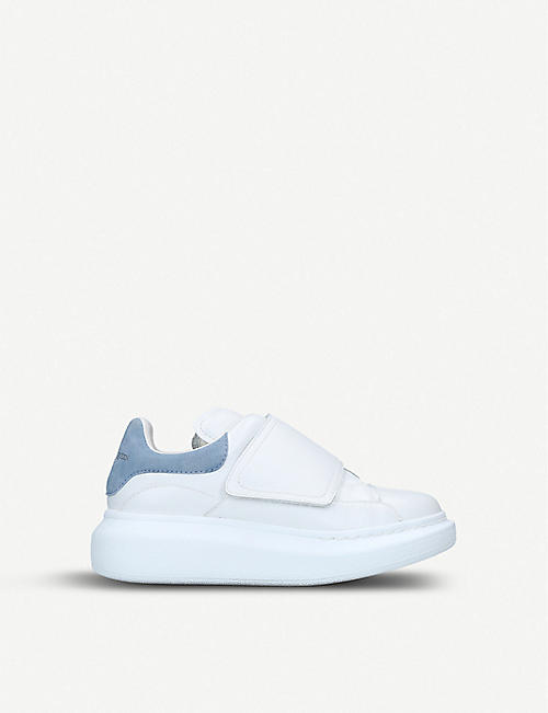 ALEXANDER MCQUEEN Kids Molly leather trainers 3-8 years