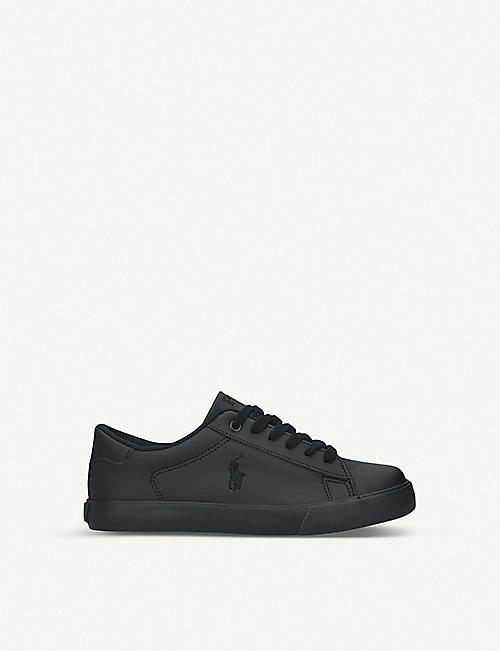 POLO RALPH LAUREN Easten leather trainers 8-12 years