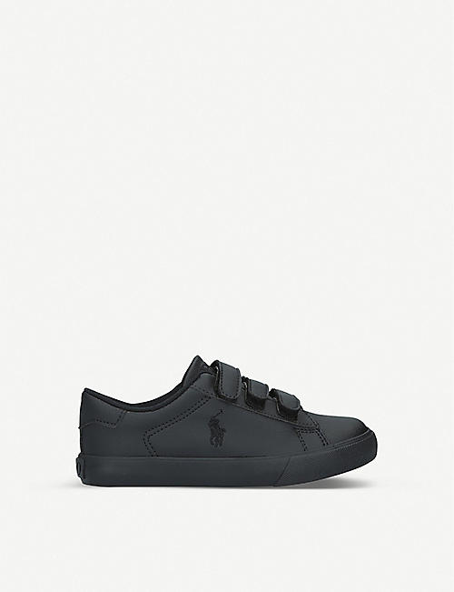 POLO RALPH LAUREN Easten EZ leather trainers 4-9 years