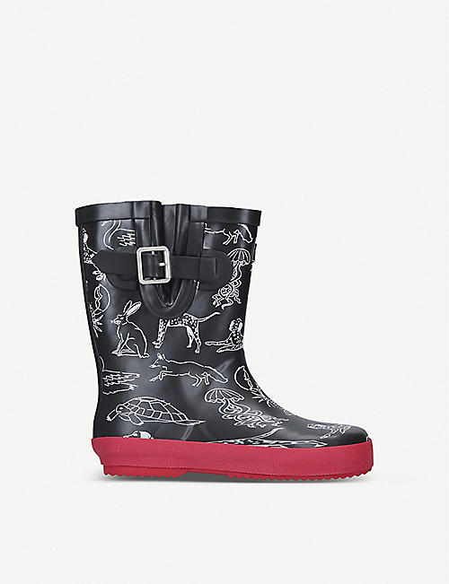 KURT GEIGER LONDON Animal rain boots 2-7 years