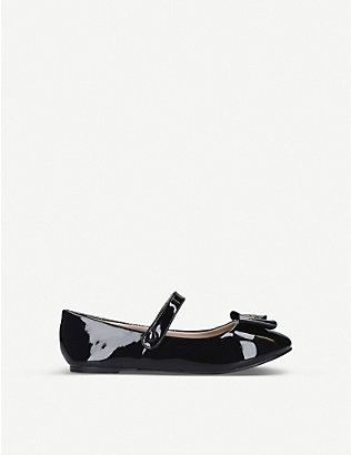 KURT GEIGER LONDON: Mini Freya patent mules ages 8-13