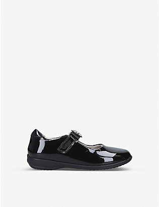 LELLI KELLY: Blaze patent leather dolly school shoes 3-9 years