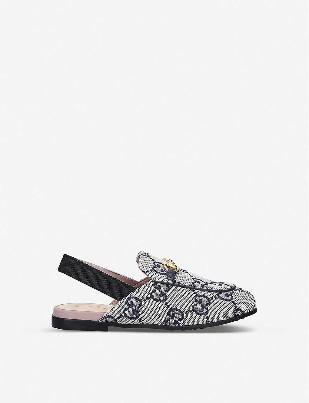 GUCCI: Princetown canvas loafers 4-8 years