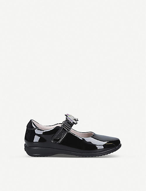 LELLI KELLY Blossom Dolly patent leather school shoes