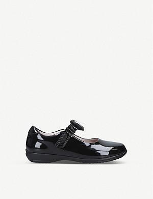 LELLI KELLY Colourissima patent leather dolly school shoes