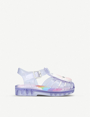 MINI MELISSA Possession Unicorn sandals 6 months–5 years
