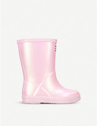 HUNTER: Original Kids First Classic rubber wellington boots 2-6 years