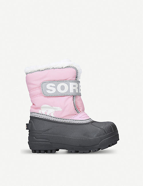 SOREL Snow commander shell boots 3-7 years