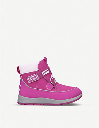 UGG: Tabor waterproof leather and faux-leather boots 4-11 years