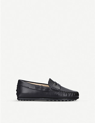 TODS: Nuovo City Gommini leather driving shoes