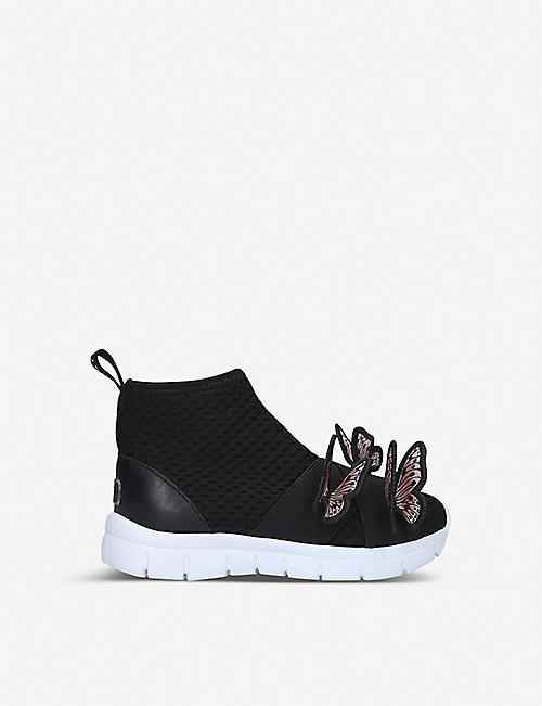 SOPHIA WEBSTER: Riva butterfly-embellished mesh trainers 4-9 years