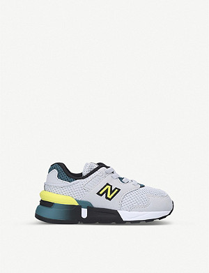 NEW BALANCE 997 suede and mesh low-top trainers 2-5 years