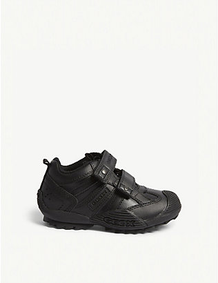 GEOX: Savage synthetic leather trainers 4-9 years