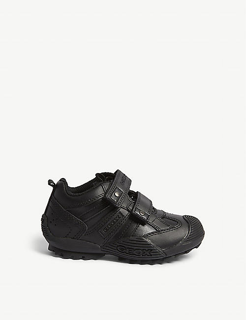 GEOX Savage synthetic leather trainers 4-9 years