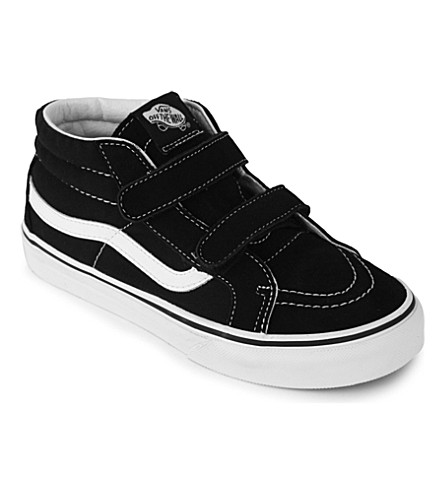 367ab298d48 VANS Sk8-Mid Reissue V suede trainers 7-9 years (Black