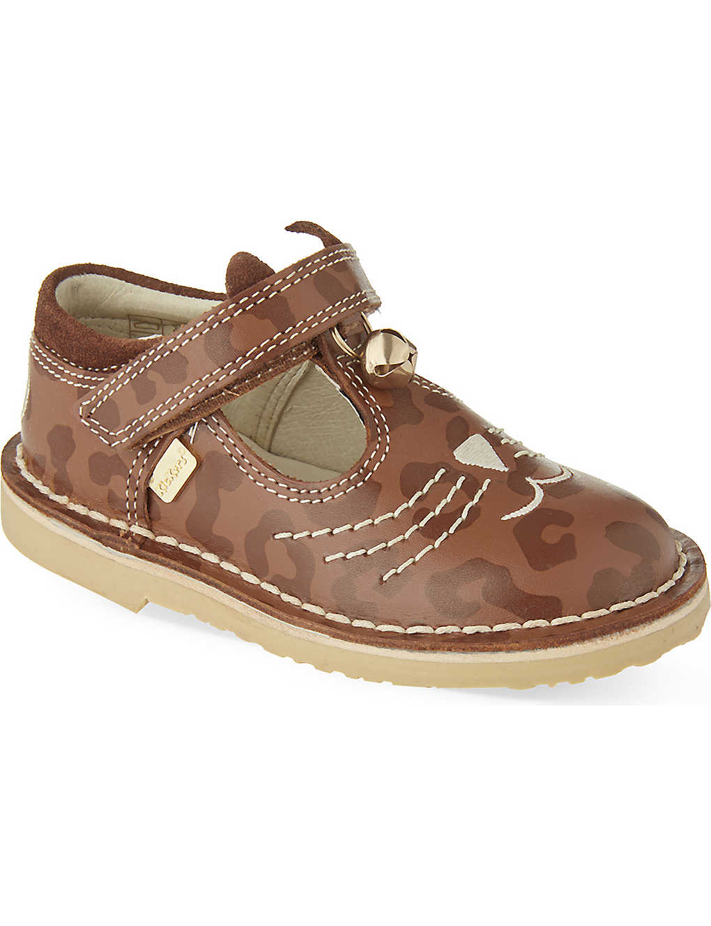 229e9806fc6da9 KICKERS - Adlar kit-t leather shoes 2-7 years | Selfridges.com