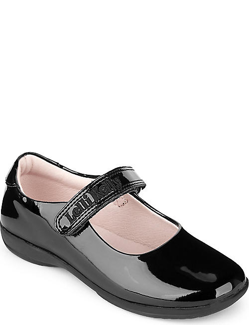 LELLI KELLY Patent-leather school shoes