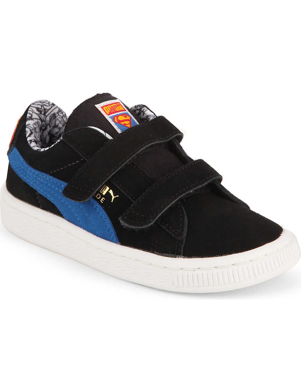 sports shoes b016e 7c0ed PUMA - Suede superman trainers 7-9 years | Selfridges.com