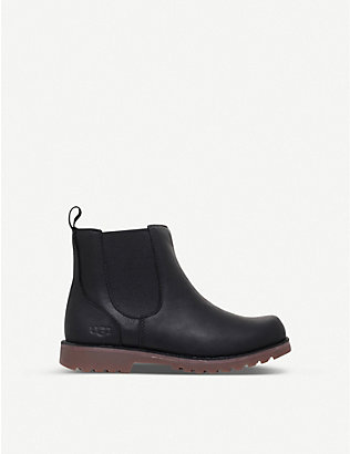 UGG: Callum leather chelsea boots 7-10 years