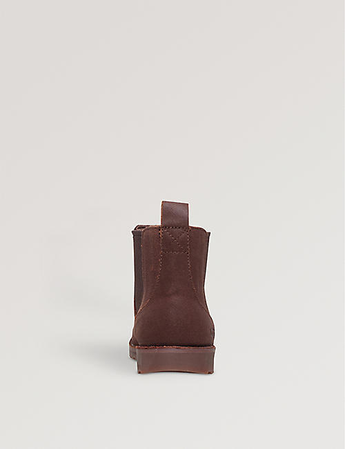 UGG Callum leather boots 7-10 years