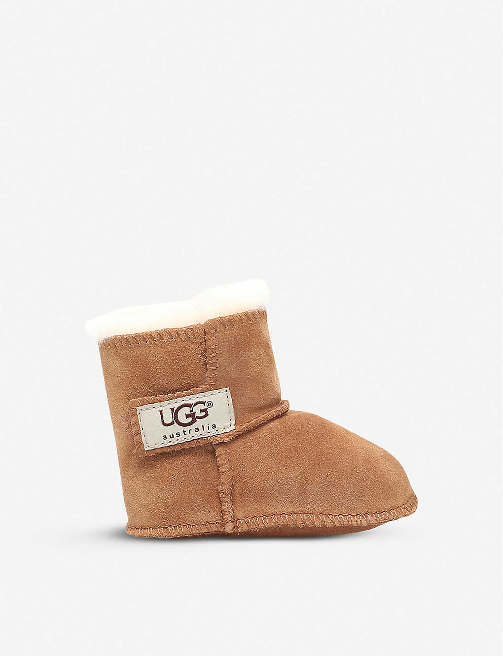 0231b390a59 Erin suede and sheepskin boots 0-3 years