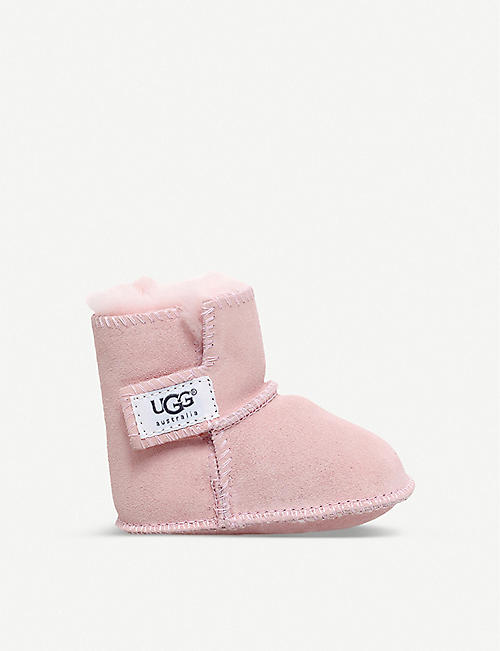 UGG Erin suede and sheepskin boots 0-12 months f11ea01be991