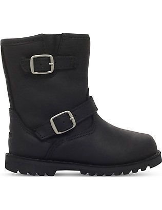 UGG: Harwell leather boots 7-10 years