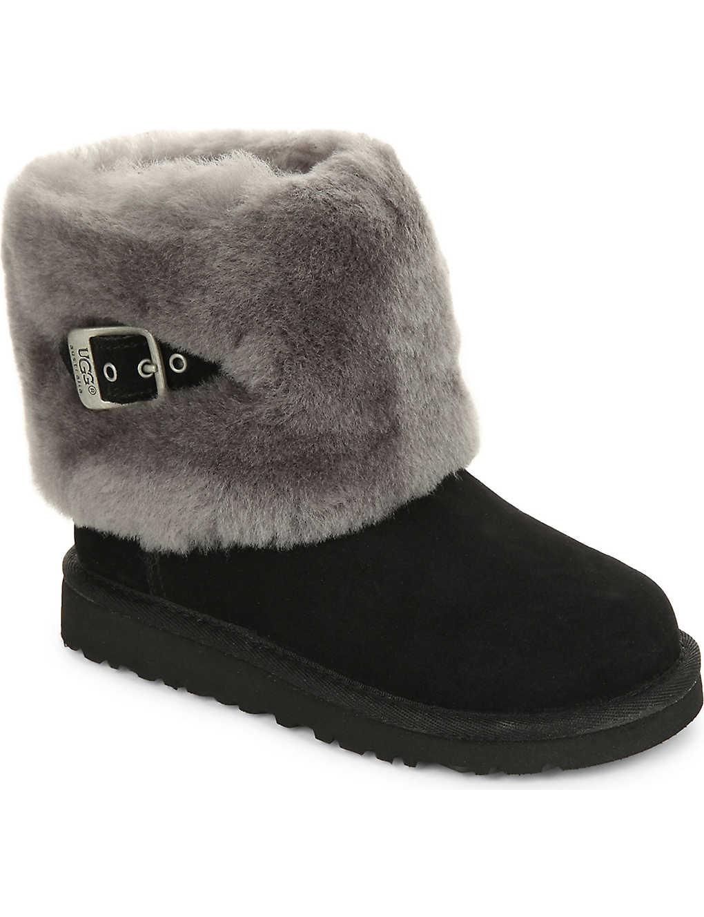 6ebb27c55ab UGG - Ellee suede boots 7-10 years | Selfridges.com