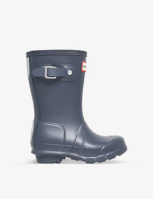 HUNTER: Original Kids rubber wellington boots 3-7 years
