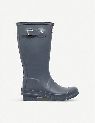 HUNTER: Original Kids rubber wellies 7-10 years