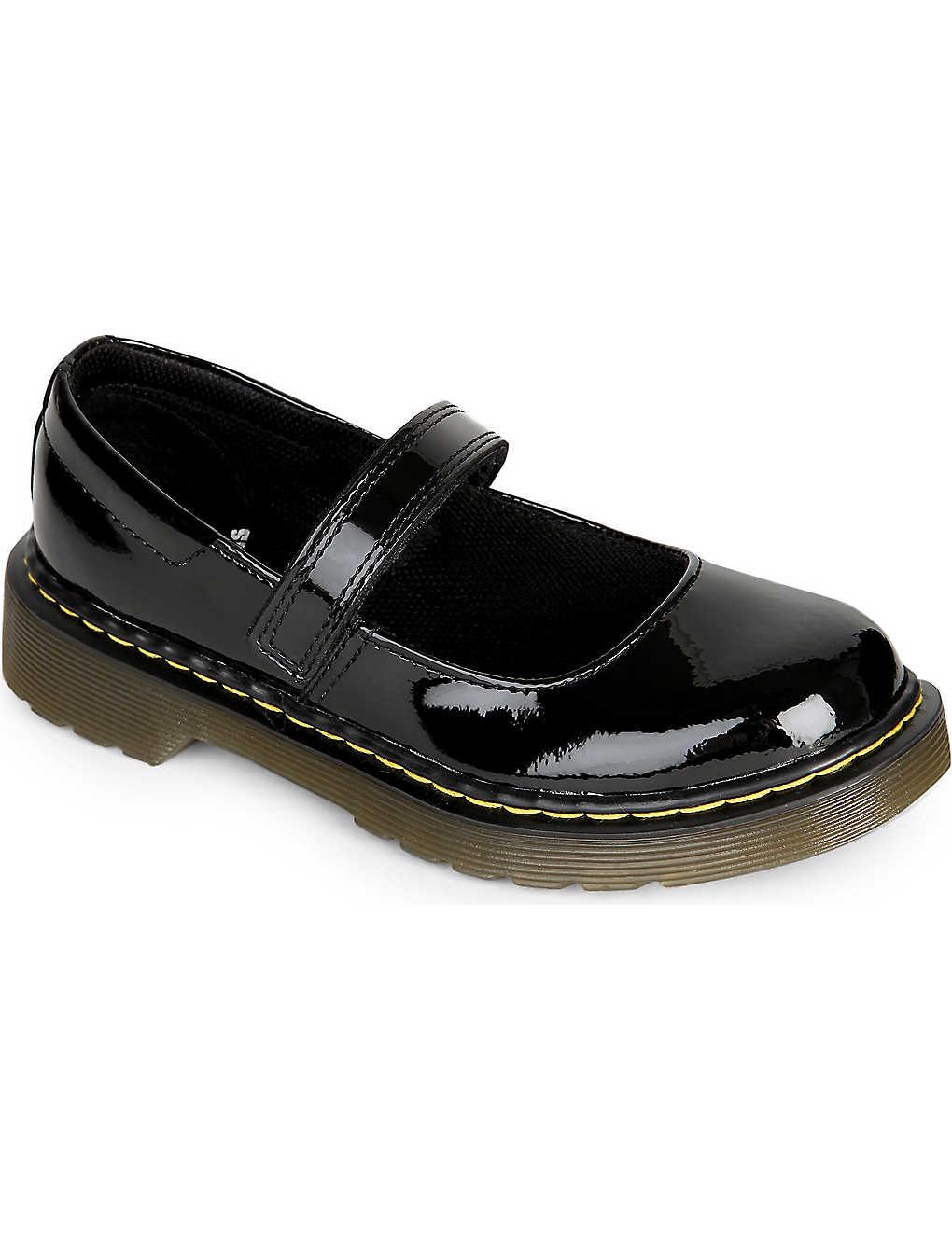 d73ba77f DR MARTENS - Maccy patent leather shoes | Selfridges.com