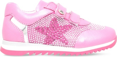 MISSOURI Embellished leather trainers 2-5 years