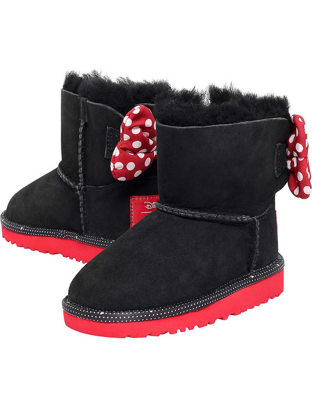 40c4c6e856b UGG - UGG x Disney Sweetie bow sheepskin boots 7-8 years ...