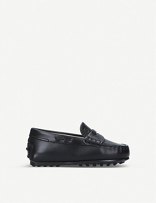 TODS: Nuovo City Gommini leather driving shoes 1-5 years