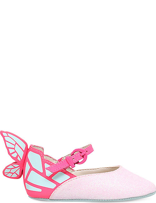 SOPHIA WEBSTER Chiara glitter mini Mary Janes 4-6 months