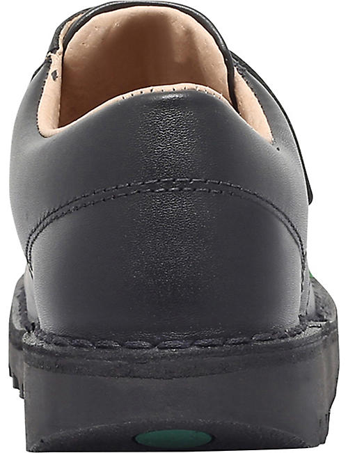 KICKERS Kick lo leather shoes 2-7 years