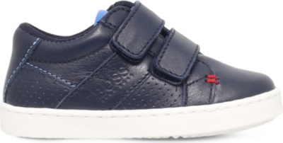 BOSS BY HUGO BOSS Taj Mahal leather trainers 2-5 years