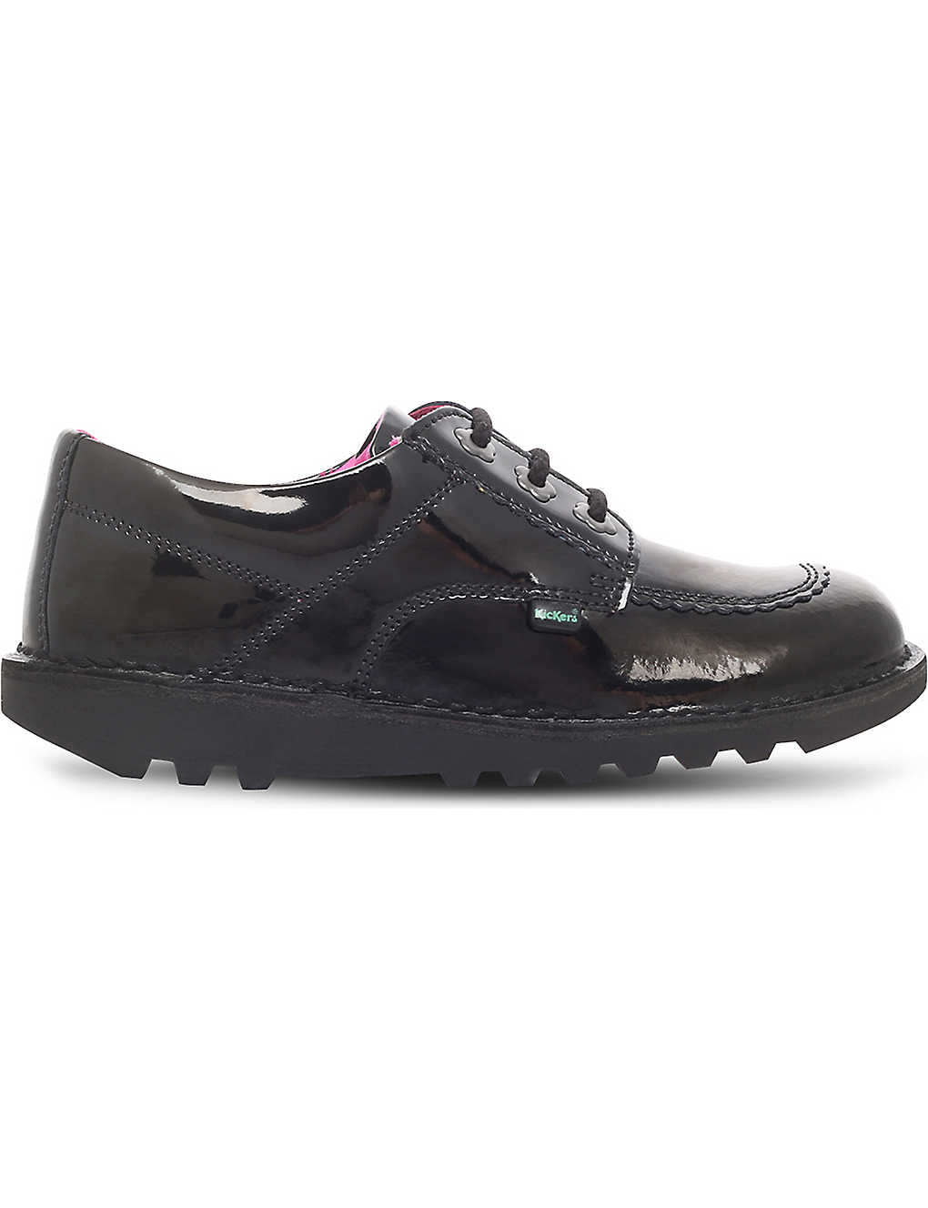 46dd637f KICKERS - Kick lo patent leather shoes 6-9 years | Selfridges.com