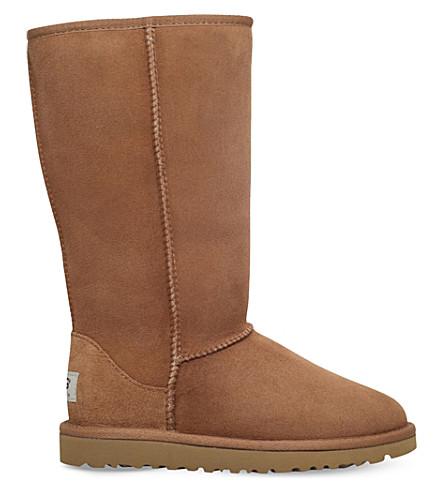 Classic Tall Sheepskin Boots   Liberty